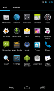 After enabling as device admin, access app launcher is no longer present