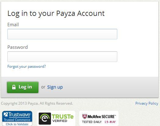 Citadel's New Target: The Payza Payment Platform