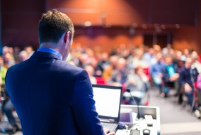When presenting security topics to an audience of non-security professionals, try to avoid using industry jargon and abbreviations. It is also important to determine your audience's familiarity with the subject matter before you dive in too deep.