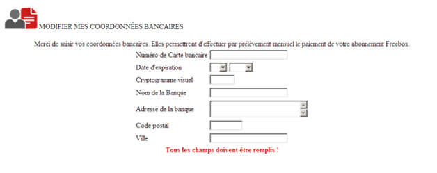 Carberp Trojan Tar s French Internet Service Provider