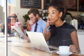 Working remotely is convenient for staff, but it can create security issues for a business's IT department. Laptops that are not on-site are vulnerable to malware that corporations may normally be protected against. Businesses must find ways to stay safe.