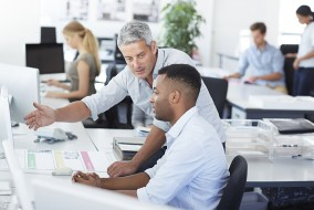 Insider threats can be among the most damaging to an organization, so it's essential for any and every company to properly manage employee risk. This often includes running a security awareness program and enforcing existing security controls.