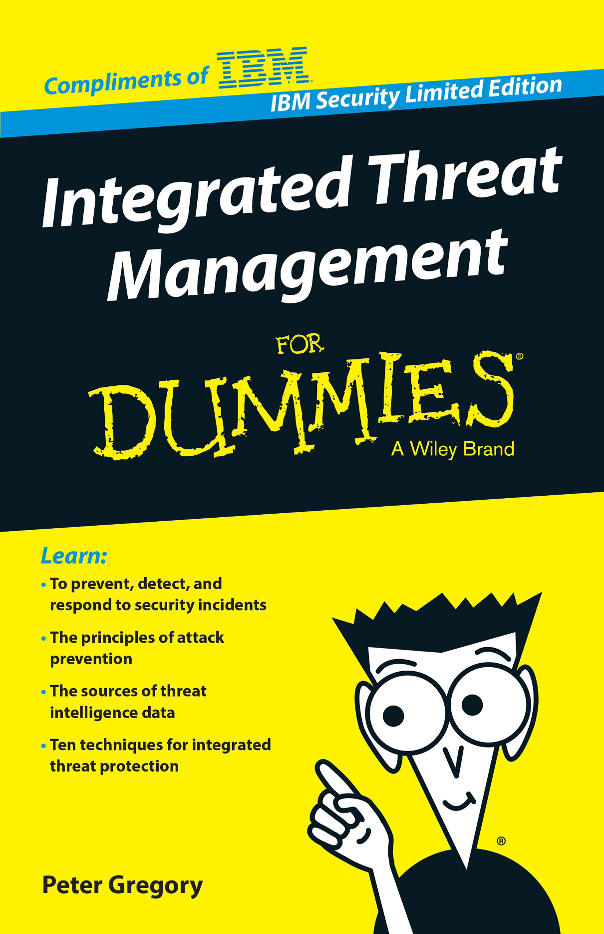 Cover image for Integrated Threat Management for Dummies, from IBM Security