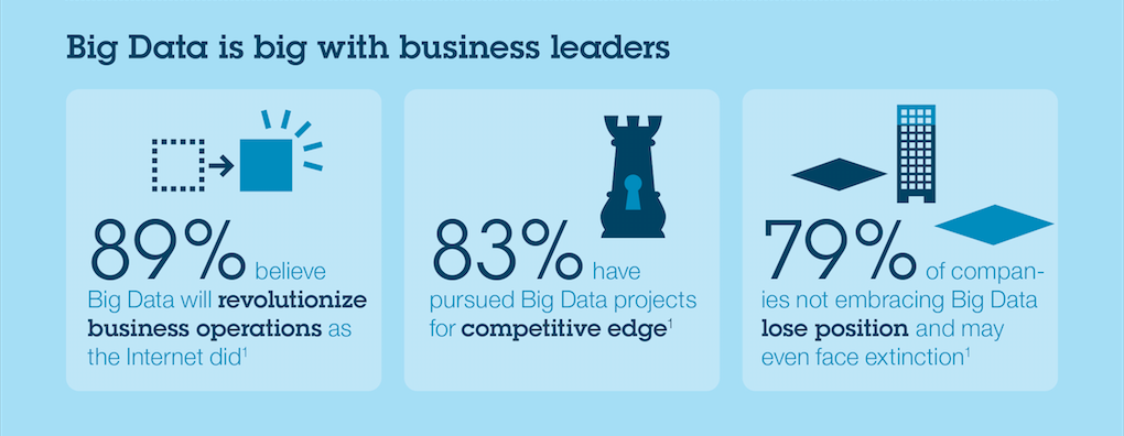 Big data is big with business leaders.