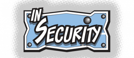 In Security web comic logo