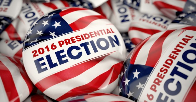 2016 presidential election pins.
