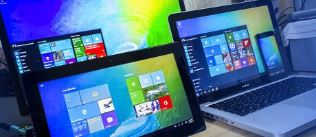 Windows 10 reduces the traditional gap between smartphone and tablet operating systems and those of PCs. It enables administrators to monitor and control all devices under and single, speedy operating system with a familiar, app-based layout.