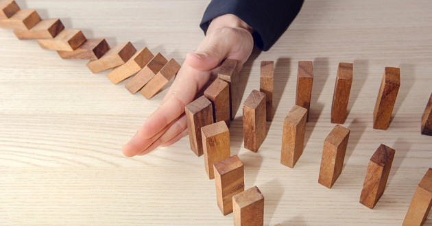 Threat management can help prevent the domino effect.