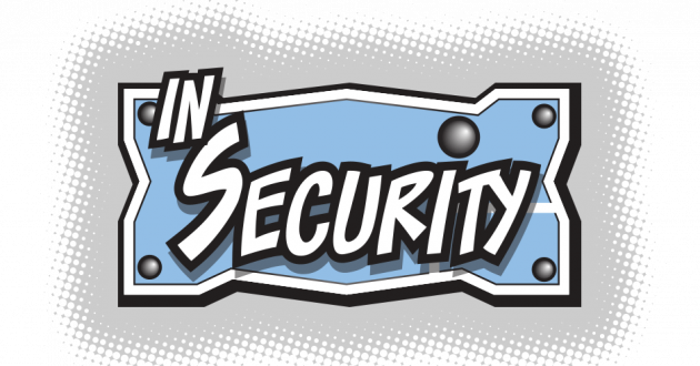 The 'In Security' web comic logo.