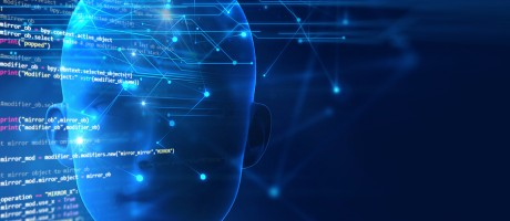 Cognitive computing concept.
