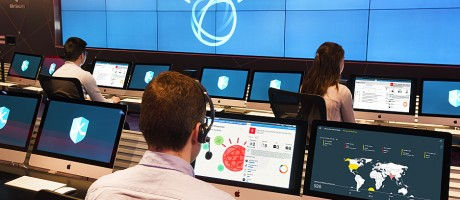 Security analysts using Watson to detect and respond to cyberthreats.