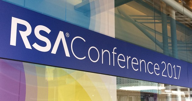 A sign for RSA 2017.