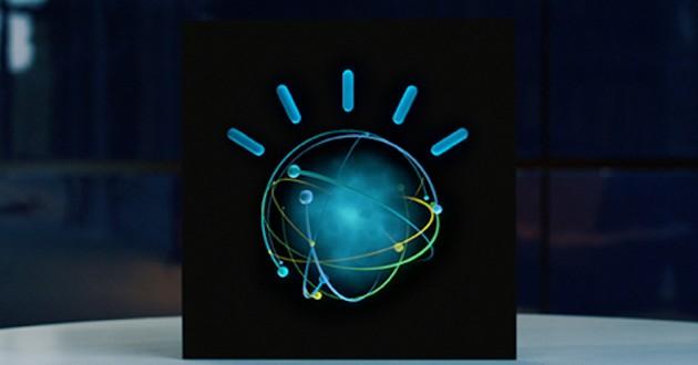The IBM Watson logo.