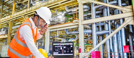 An industrial IT engineer working in a power plant.