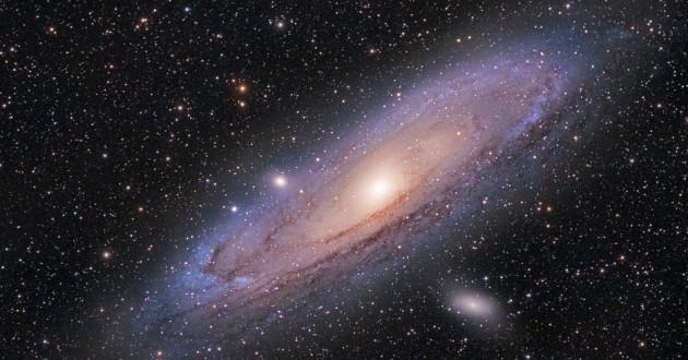 The Andromeda galaxy.