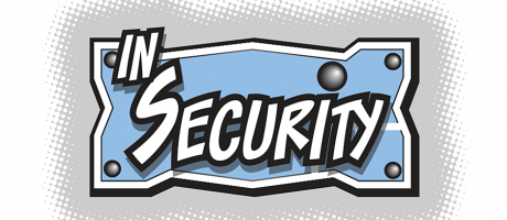"""In Security"" web comic logo."