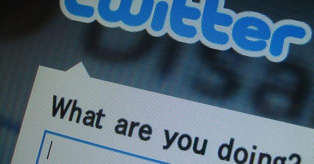 A screenshot of the Twitter app.