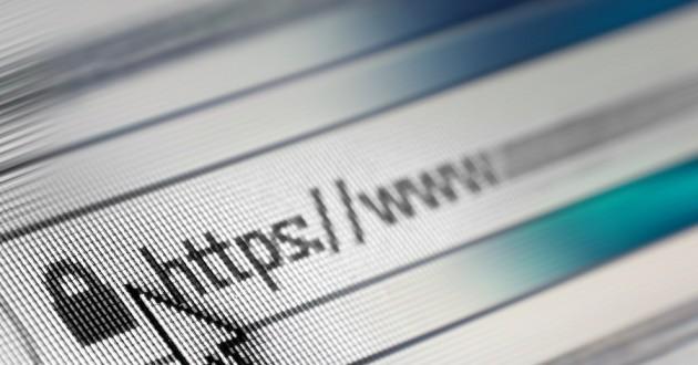 A cursor hovering over a URL address bar.