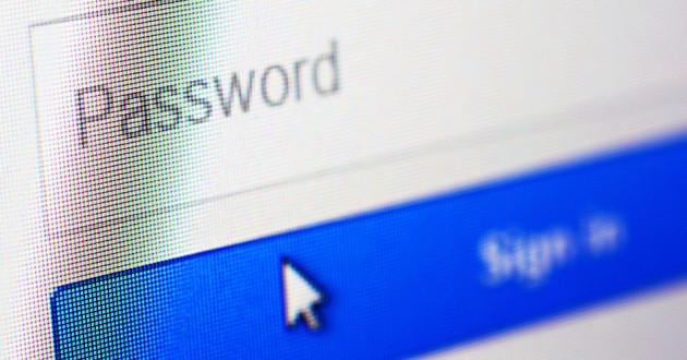 An empty password field.