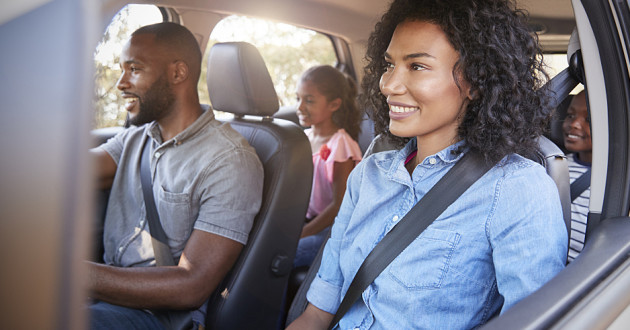 Family car trips are safer thanks to seat belts.