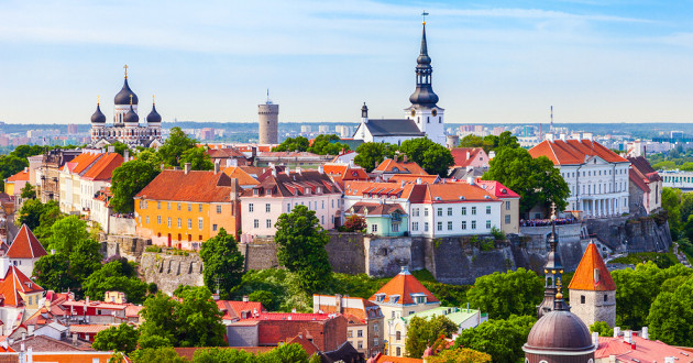 Estonian landscape.