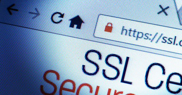 A web browser showing an SSL certificate.