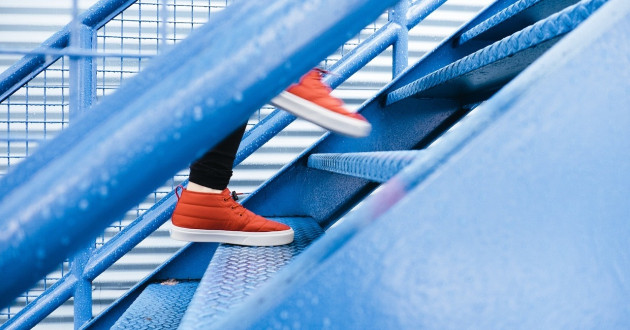 Red sneakers walk up a blue staircase: cognitive application security testing