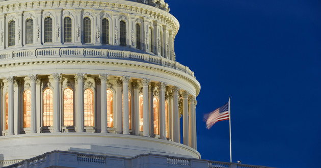 The Capitol in Washington, D.C.: cybersecurity threats
