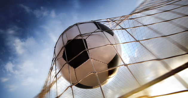 A soccer ball hits the back of a goalie's net: spam campaigns