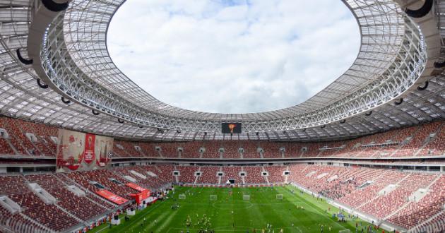Luzhniki Stadium in Russia: phishing scams