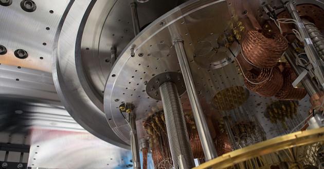 The interior of a quantum computer: quantum computing