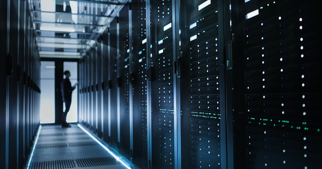 A CISO working in a data center: CISO