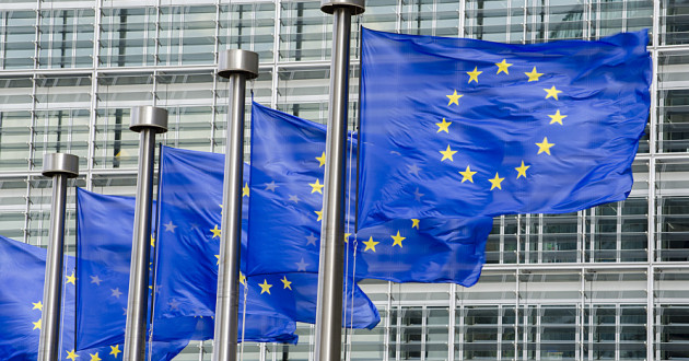 European Union flags waving in the wind: GDPR compliance