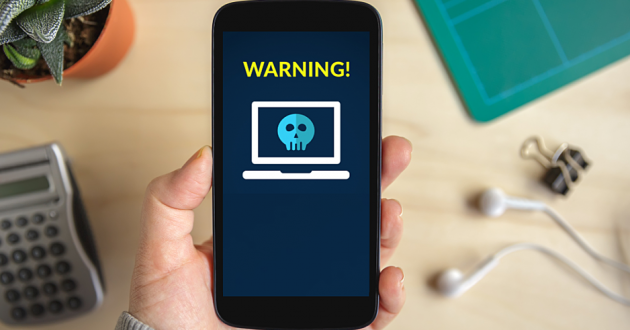 An infected mobile phone: Android malware