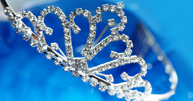 Princess tiara against a blue background: ransomware-as-a-service