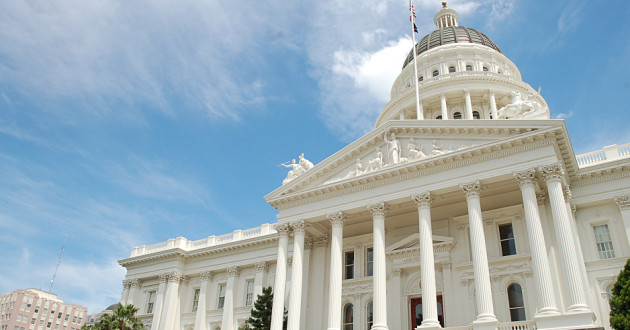 California State Capitol Building in Sacramento: Consumer Privacy Act