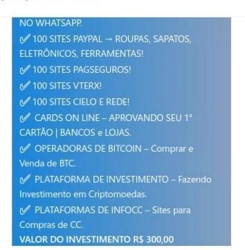 Brazilian fraudster service