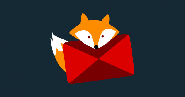 Illustration of a fox holding a phishing email attachment: IBM X-Force Red