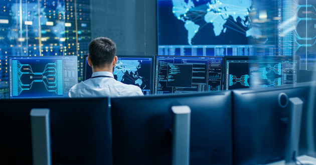 An analyst working in a security operations center (SOC): artificial intelligence