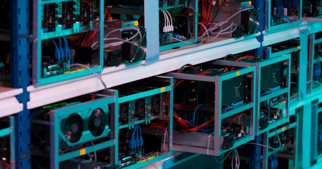 Graphics processing units (GPUs) used to facilitate Monero miners.
