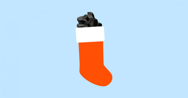 Christmas stocking stuffed with coal: security posture