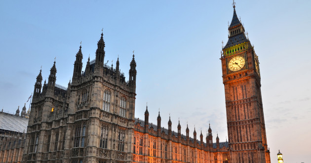 Houses of Parliament and Big Ben: spear phishing attack