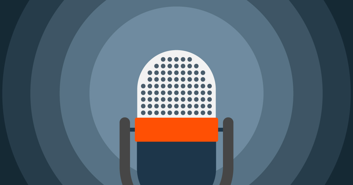 Illustration of a radio microphone: cybersecurity predictions