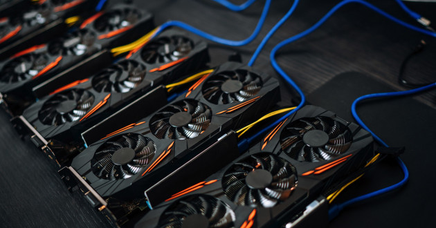 A cryptocurrency mining rig: crypto-mining malware