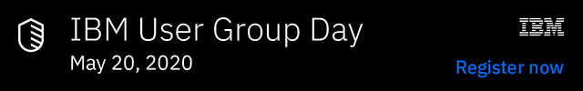 Promotion for IBM User Group Day